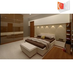 Bedroom Interior Designing  Reflection