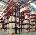 Brown Warehouse Shelving Systems, For Industrial