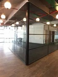 Decorative Glass Cabin Partition