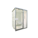 White Pre Fabricated Steam Room, Size: 1300 X 1200 X 2250 Mm