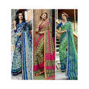Ladies Printed Triveni Saree