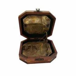 Portable Brass Compass