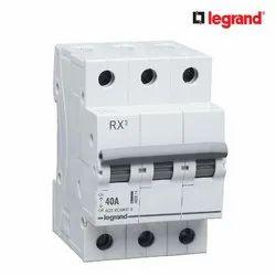 Legrand RX3 40 A Three Pole Electrical Isolator