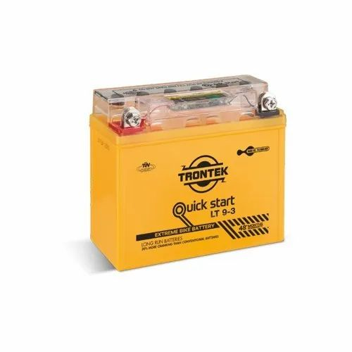 Trontex Quick Start 9-3 9AH Motorcycle Battery
