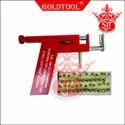 Gold Tool Ear Piercing Gun Aluminium