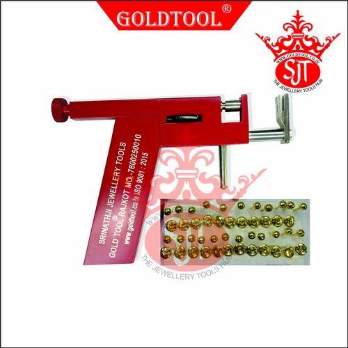 Gold Tool Ear Piercing Gun Aluminium At Rs 850 Piece