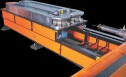 Double layer corrugated pipe machine