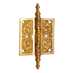 2 1/2inch x 2 1/2inch Brass Decorative Hinge