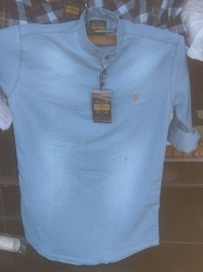Shirts & T-shirts Light Blue Men's Ware, Size: Large