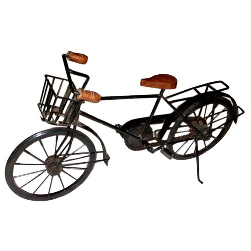 Iron Bicycle For Home Decor