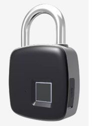 Microleaf Fingerprint Padlock-MFPL1012, Packaging Size: <10 Piece