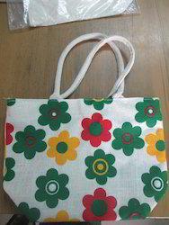 Cotton Handle Colorful Handbags