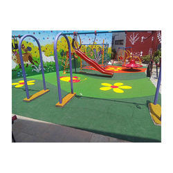 Ecoflex EPDM Rubber Flooring For Children Playground