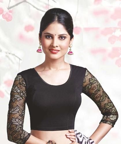 4dbe0426a519d6 Stretchable Blouse - Desi Girl Stretchable Blouse Retail Shop from Mumbai