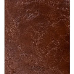 Buff Leather Plain Brown Upholstery Leather, Packaging Size: 18 Square Feet