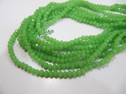 AAA Quality Hydro Quartz Green Chalcedony Beads