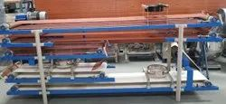 Chapati Cooling Conveyor Cum Powdering Machine