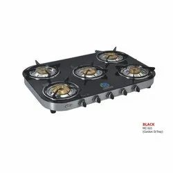 MC-501 Glass Five Burner Stove