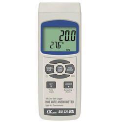Hot Wire Anemometer,   Type K/J Temp.