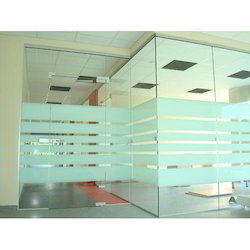 Frameless Glass Partitions