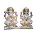 Marble Laxmi Ganesh Statue