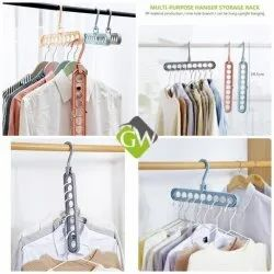 Multipurpose Hanger (Magic Hanger for Wardrobe)