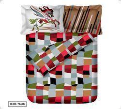 Printed Cotton Satin Bed Sheet