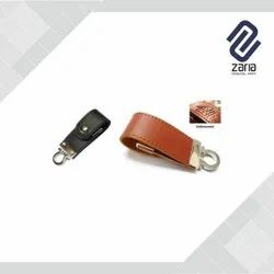 Promotional Leather Pen Drive