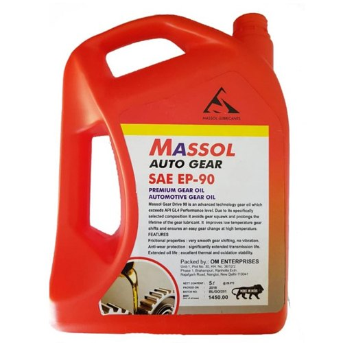 Sae EP-90 Massol Auto Gear Oil, Packaging Type: Can | ID: 20966994862