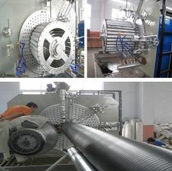 PE Huge Caliber Hollow Winding Pipe Production Extrusion Lin