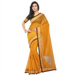 Chanderi with Butta Saree