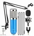 BM800 Condenser Microphone Set Blue