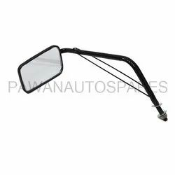 Three Wheeler Rectangular Mirror