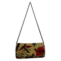 Indian Handmade Velvet Bird Print Bags