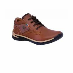 Men Casual Wood Chief Pure Leather Shoes