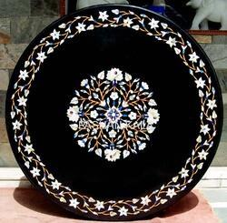 Black Stone InlayTable Top
