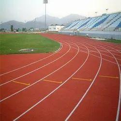 Ecoflex Synthetic Running Track Flooring
