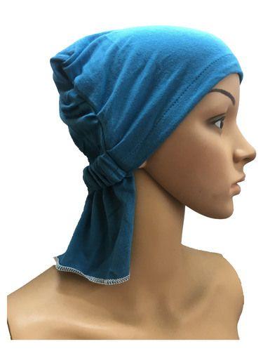 GIRRIJA Sky Blue cotton caps chemo beanies cancer caps women summer chemo  caps sleep turban for cbab66608de