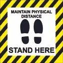 Covid-19 Maintain Physical Distance Poster