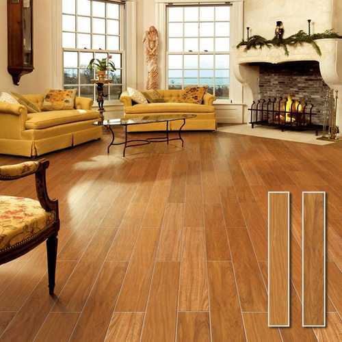 Brown Laminate Wooden Flooring