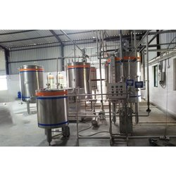 SS Juice Mixing Plant