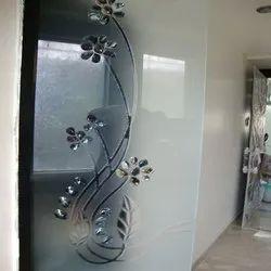 Printed Decorative Interior Glass, Thickness: 5-12 Mm