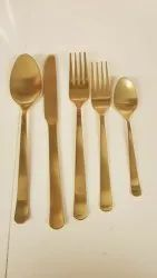 Limitless Hunch Brass Hotel Cutlery For Hotel & Restaurant
