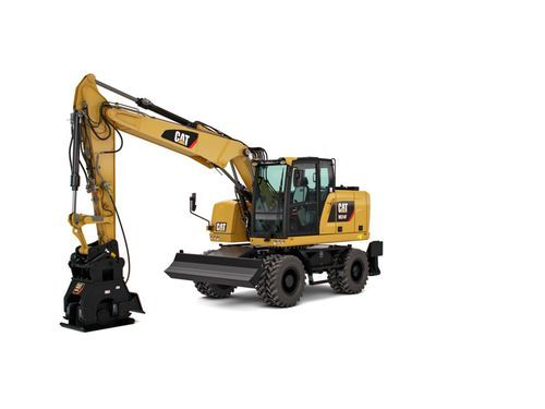 Wheeled Excavator Excavator And Earth Moving Machinery Vinayaga
