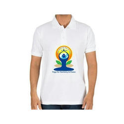 Male Cotton Mens Promotional T Shirt, Size: Medium And Large