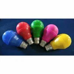 Ceramic Round 9W Coloured LED Bulb, For Decoration