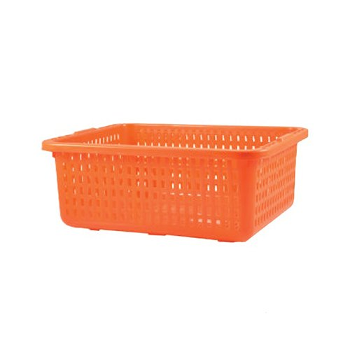 Rectangular Mesh Plastic Kitchen Crate, for Vegetable Crate, Capacity: 10 Kg