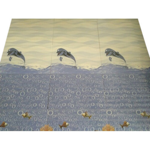 Printed Ceramic Designer Bathroom Wall Tiles, Thickness: 0-5 mm