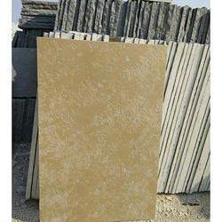 Tandur Yellow Brush Finish Stone, Size: 23''x23''