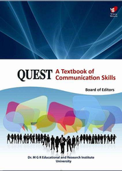Quest A Textbook of Communication Skills Book